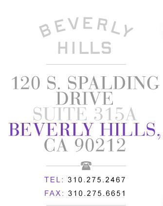 120 S. Spalding Drive, Suite 315, Beverly Hills, CA 90212